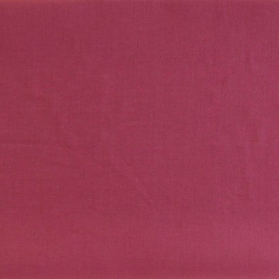 Derry Raspberry Dark Pink 100% Pure Linen Woven Fabric Main Image from Patternsandplains.com