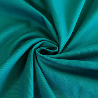 Bermuda - Sea Green Stretch Cotton Woven Twill Fabric Detail Swirl Image from Patternsandplains.com