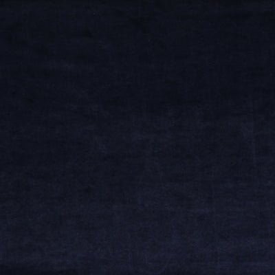 Carlotta Navy Stretch Panne Velvet Jersey Fabric from John Kaldor Main Image from Patternsandplains.com
