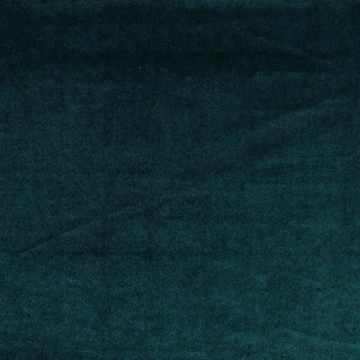 Carlotta Teal Stretch Panne Velvet Jersey Fabric from John Kaldor Main Image from Patternsandplains.com