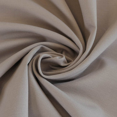 Milan - Oyster Viscose Rich Ponte de Roma Fabric Detail Swirl Image from Patternsandplains.com