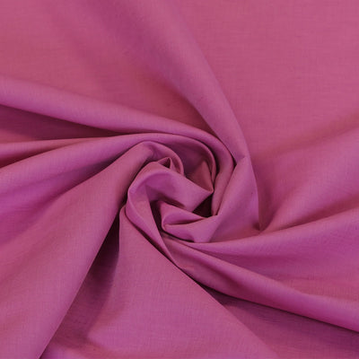 Moira Cerise Linen-Cotton Woven Fabric