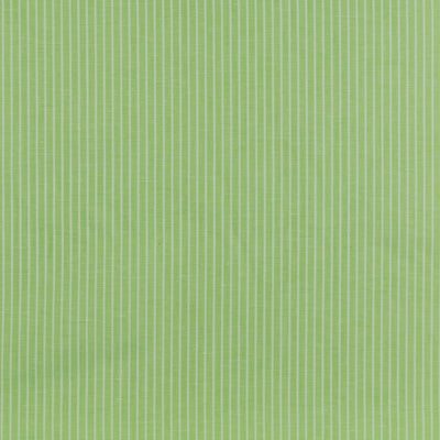Moira Stripe Lime Green and White Linen-Cotton Woven Fabric Main Image from Patternsandplains.com