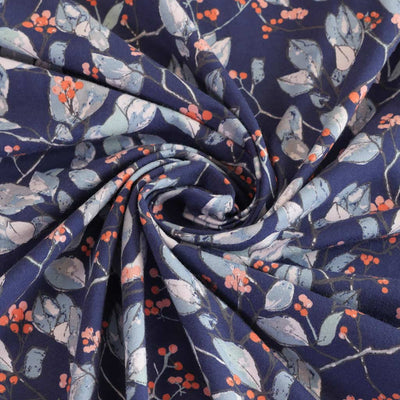 Serein Branchlet Cotton Elastane Single Jersey by Art Gallery Fabrics Detail Swirl Image from Patternsandplains.com