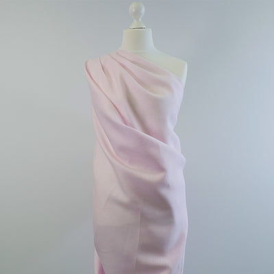 Shannon Candyfloss Pure Linen Woven Fabric Mannequin Wide Image from Patternsandplains.com