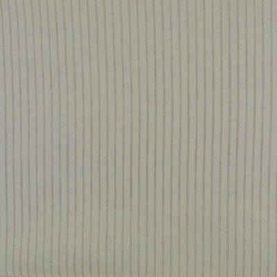 Shannon Stripe Cream and Natural 100% Linen Woven Fabric Main Image from Patternsandplains.com