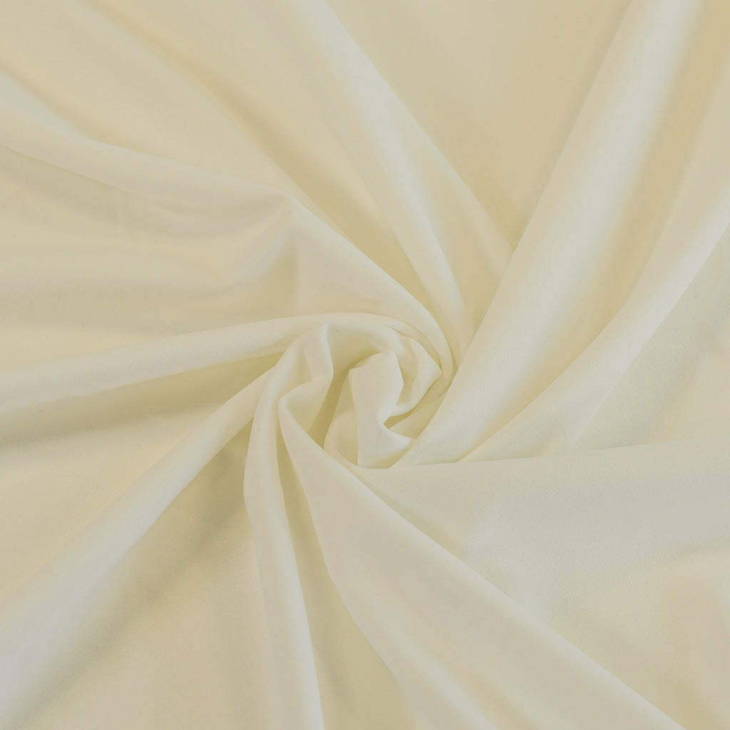 Tivoli - Single Cream, Light Scuba Stretch Crepe Fabric - Patterns ...