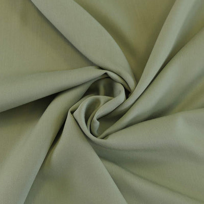 Trieste- Sage Green Modal, Bamboo and Tencel Woven Fabric Detail Swirl Image from Patternsandplains.com