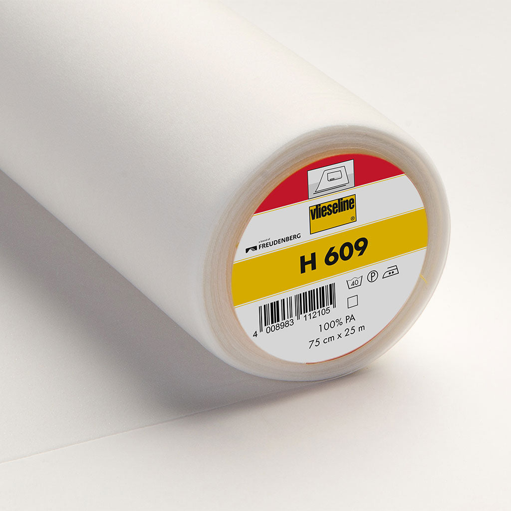 Vlieseline Fusible Knit Interfacing White H609 From Patternsandplains.com