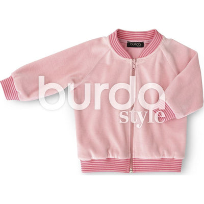 Burda Style Pattern B9349 Babys Jogging Suit 9349 Image 4 From Patternsandplains.com
