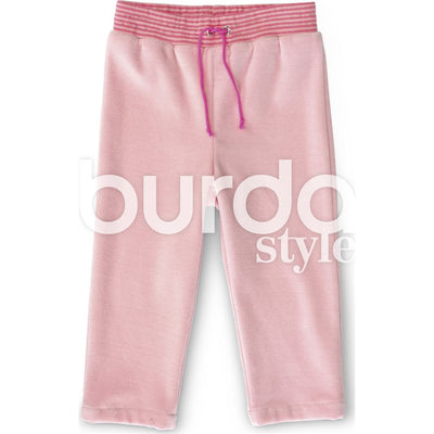 Burda Style Pattern B9349 Babys Jogging Suit 9349 Image 7 From Patternsandplains.com