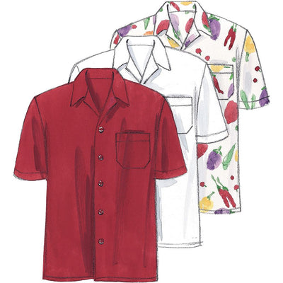 McCall's Pattern M2233 Misses and Mens Jacket Shirt Apron Pull On Pants Neckerchief and Hat 2233 Image 3 From Patternsandplains.com.jpg