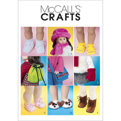 McCall's Pattern M3469 18 Doll Accessories 3469 Image 1 From Patternsandplains.com