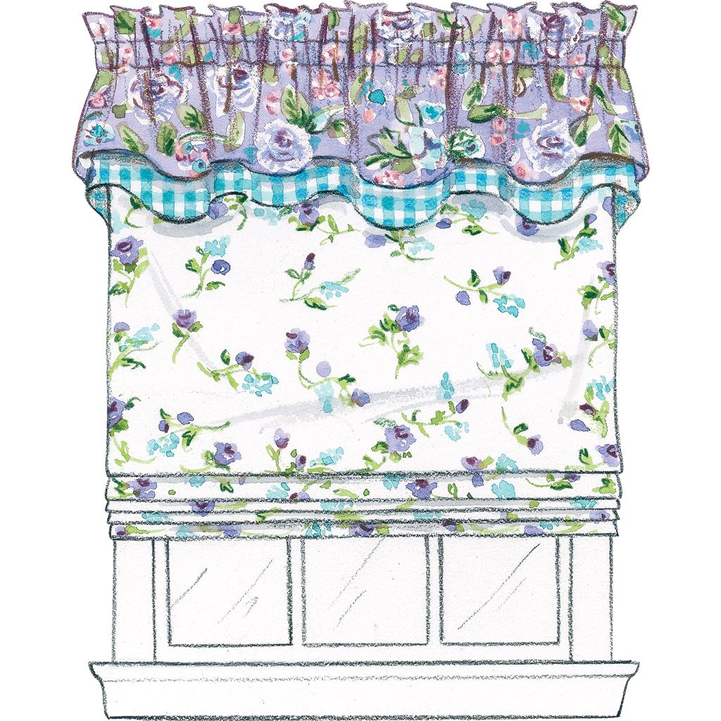 Mccall S Pattern M4408 Window Essentials Valances And Panels 4408 Patterns And Plains