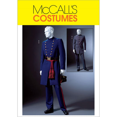 McCall's Pattern M4745 Mens Civil War Costumes 4745 Image 1 From Patternsandplains.com