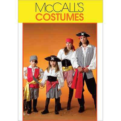 McCall's Pattern M4952 Misses Mens Childrens Boys Girls Costumes 4952 Image 1 From Patternsandplains.com