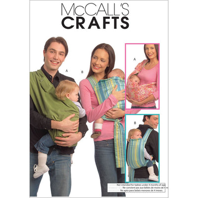 McCall's Pattern M5678 Baby Carriers 5678 Image 1 From Patternsandplains.com