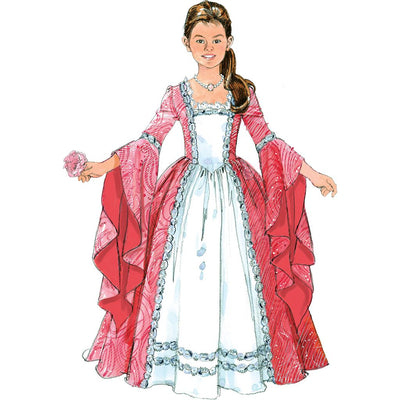 McCall's Pattern M5731 Misses Childrens Girls Princess Costumes 5731 Image 5 From Patternsandplains.com.jpg