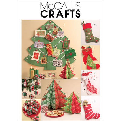 McCall's Pattern M5778 Holiday Decorations 5778 Image 1 From Patternsandplains.com