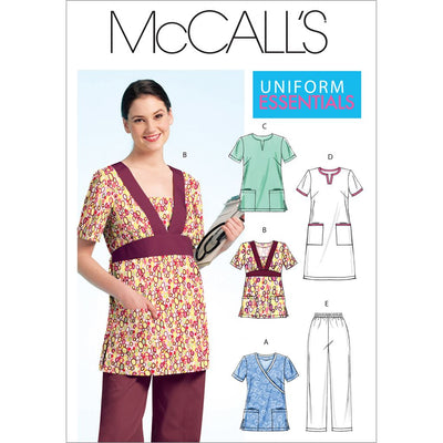 McCall's Pattern M5895 Misses Womens Tops Dress and Pants 5895 Image 1 From Patternsandplains.com
