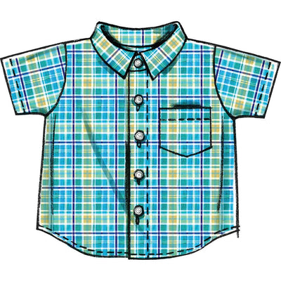 McCall's Pattern M6016 Infants Shirts Shorts And Pants 6016 Image 4 From Patternsandplains.com.jpg