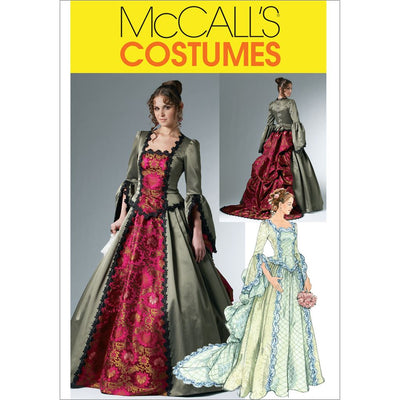 McCall's Pattern M6097 Misses Victorian Costume 6097 Image 1 From Patternsandplains.com