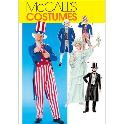 McCall's Pattern M6143 Adults Boys Girls Costumes 6143 Image 1 From Patternsandplains.com