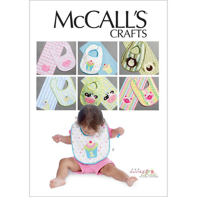McCall's Pattern M6478 Bibs and Burp Cloths 6478 Image 1 From Patternsandplains.com