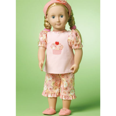 McCall's Pattern M6526 18 (46cm) Doll Clothes 6526 Image 2 From Patternsandplains.com.jpg