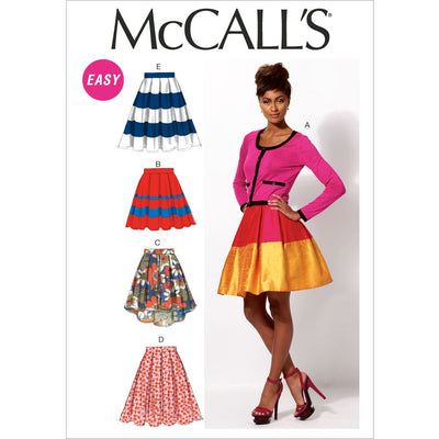 McCall's Pattern M6706 Misses Skirts and Petticoat 6706 Image 1 From Patternsandplains.com