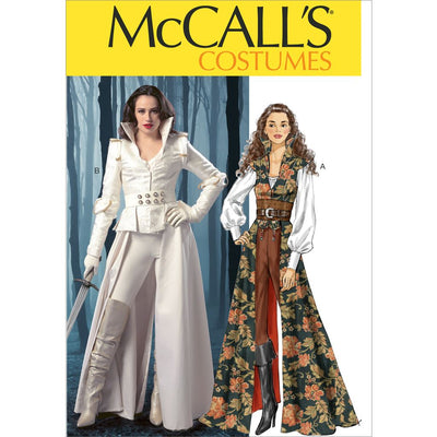 McCall's Pattern M6819 Misses Costumes 6819 Image 1 From Patternsandplains.com