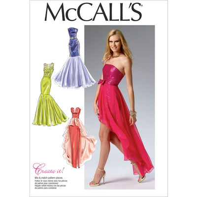 McCall's Pattern M6838 Misses Dress 6838 Image 1 From Patternsandplains.com