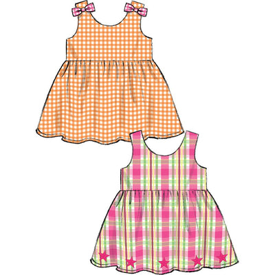 McCall's Pattern M6944 Toddlers Top Dresses Rompers and Panties 6944 Image 4 From Patternsandplains.com.jpg