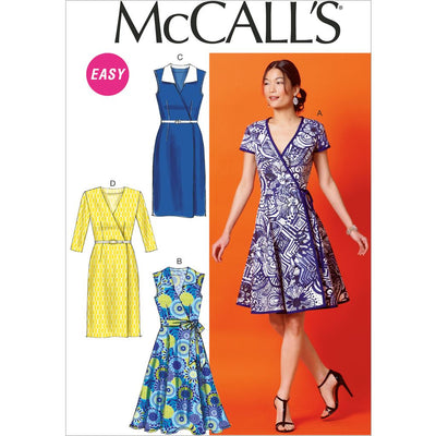 McCall's Pattern M6959 Misses Dresses and Belt 6959 Image 1 From Patternsandplains.com