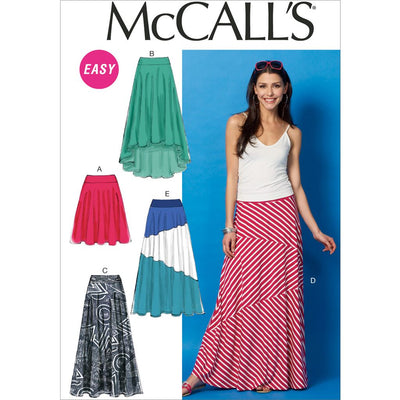 McCall's Pattern M6966 Misses Skirts 6966 Image 1 From Patternsandplains.com