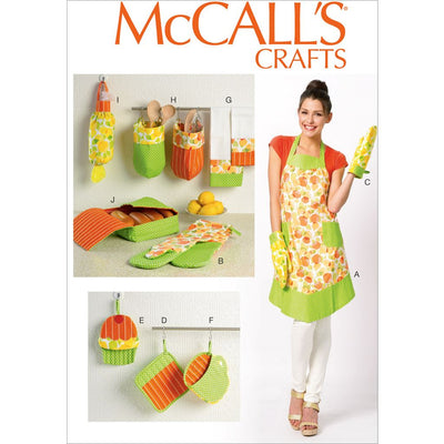 McCall's Pattern M6978 Apron and Kitchen Accessories 6978 Image 1 From Patternsandplains.com