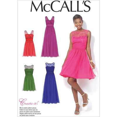 McCall's Pattern M7090 Misses Womens Dresses 7090 Image 1 From Patternsandplains.com