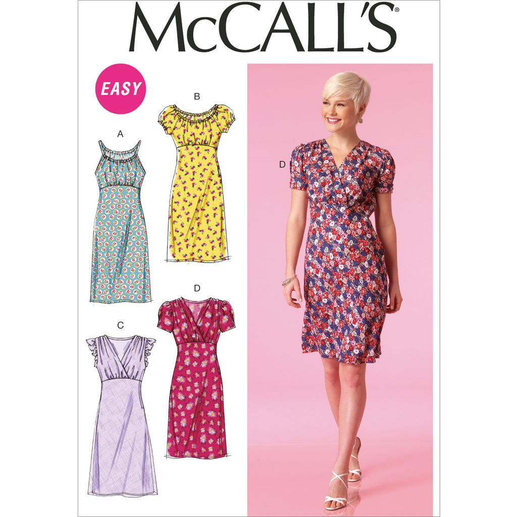 McCall's Pattern M7116 Misses Dresses 7116 Image 1 From Patternsandplains.com