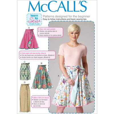 McCall's Pattern M7129 Misses Skirts 7129 Image 1 From Patternsandplains.com