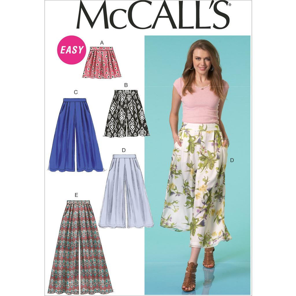 McCall's Pattern M7131 Misses Shorts and Pants 7131 Image 1 From Patternsandplains.com