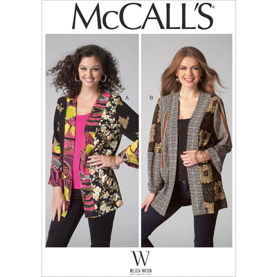 McCall's Pattern M7132 Misses Jackets 7132 Image 1 From Patternsandplains.com