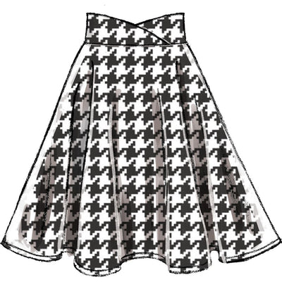 McCall's Pattern M7197 Misses Skirts 7197 Image 3 From Patternsandplains.com.jpg