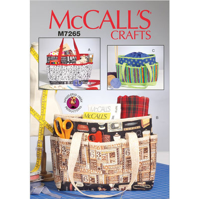 McCall's Pattern M7265 Project Totes 7265 Image 1 From Patternsandplains.com