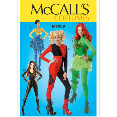 McCall's Pattern M7269 Misses Costumes 7269 Image 1 From Patternsandplains.com