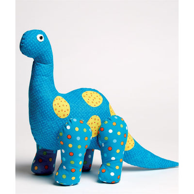 McCall's Pattern M7553 Dinosaur Plush Toys and Appliqu and eacute;d Quilt 7553 Image 3 From Patternsandplains.com.jpg