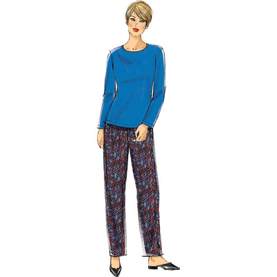 McCall's Pattern M7635 Misses Womens Top Dress Pants and Jacket 7635 Image 5 From Patternsandplains.com.jpg