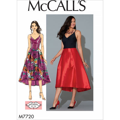 McCall's Pattern M7720 Misses Dress 7720 Image 1 From Patternsandplains.com