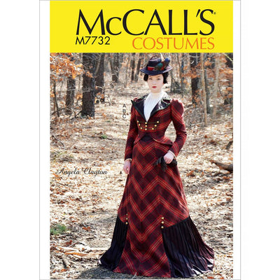 McCall's Pattern M7732 Misses Costume 7732 Image 1 From Patternsandplains.com