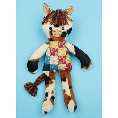McCall's Pattern M7819 Soft Toy Animals 7819 Image 7 From Patternsandplains.com