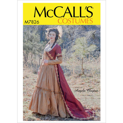 McCall's Pattern M7826 Misses Costume 7826 Image 1 From Patternsandplains.com